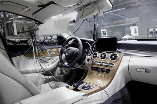 Mercedes-Benz C -Klasse, Allergie Test 2014 2