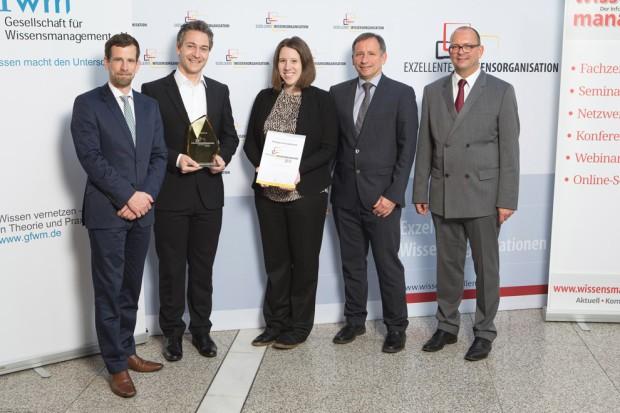 Excellente Wissensorganisation Preisverleihung 2015