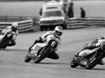 Motorrad WM 1982 Salzburgring, (1) Nieto (6) Auinger (8) Tormo