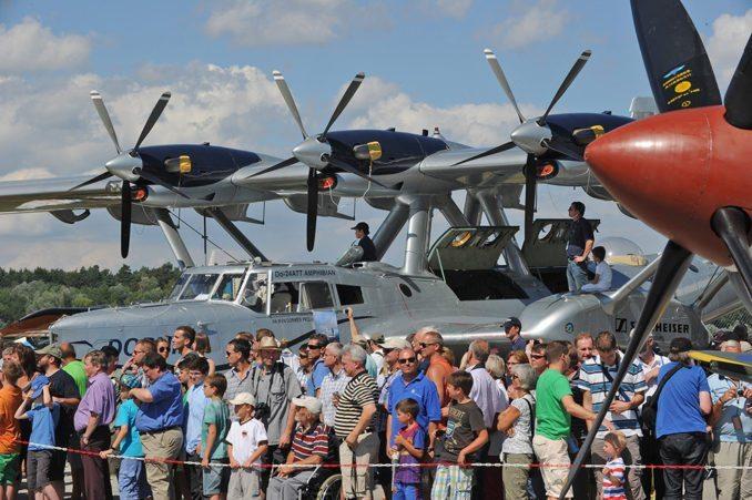 In diesem Jahr wieder mit dabei: Die Do 24 ATT von Iren Dornier ist bei den Besuchern sehr beliebt.