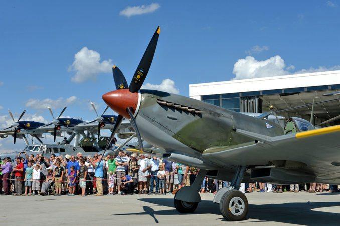 Neue Fly-Ins lassen die Besucher staunen.