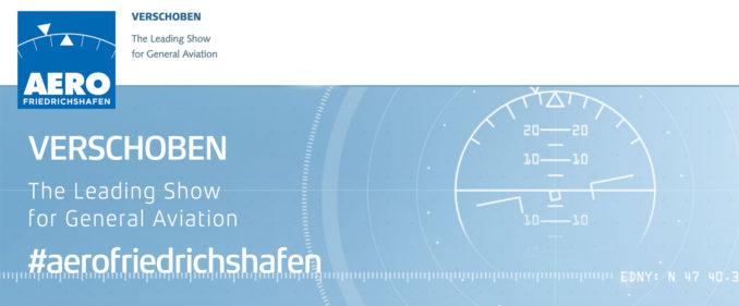 Messe Friedrichshafen verschiebt Luftfahrtmesse AERO