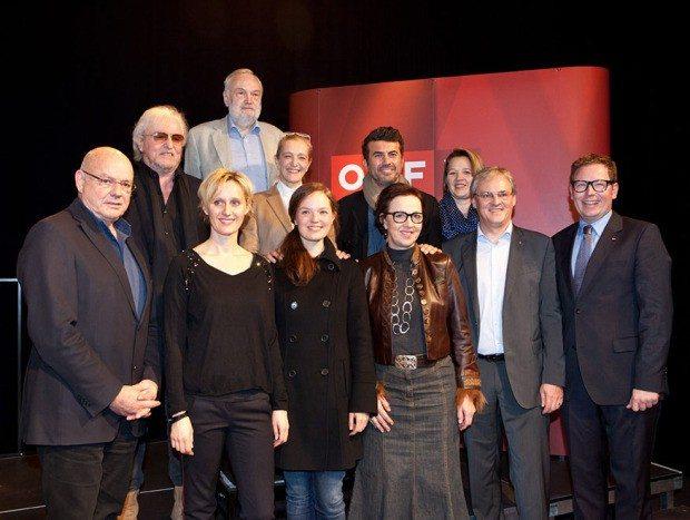 Pressekonferenz, ORF, Preview, Alles Fleisch ist Gras, Fotograf, Maurice, Andre, Shourot, fotos, photo, photos, photograph, photographer, 2014, Dezember, 11, Dornbirn, Österreich,