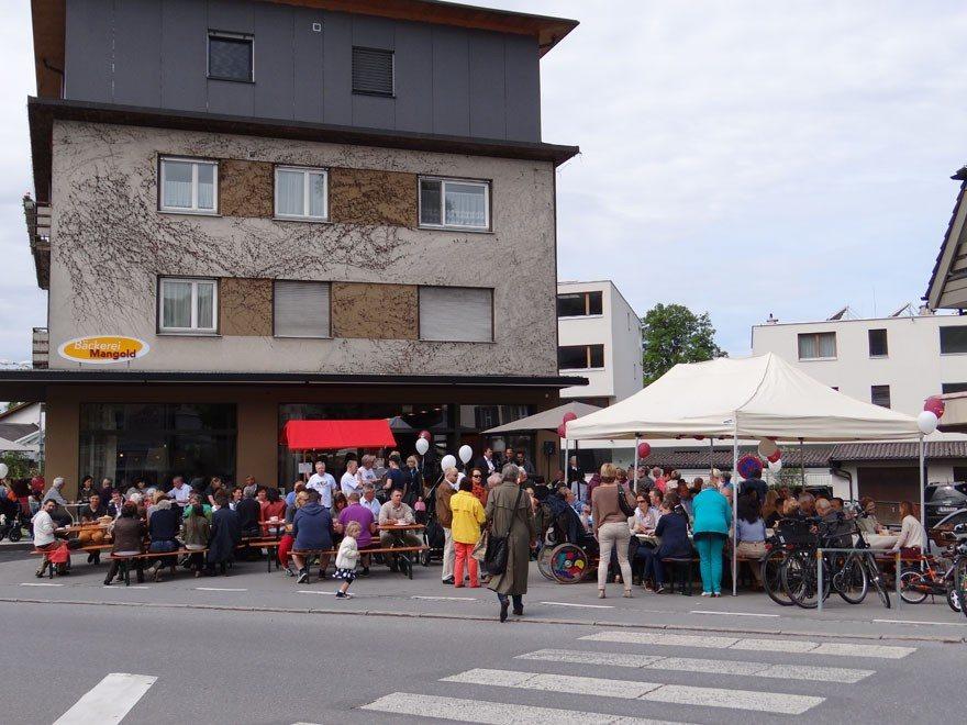 Eröffnung Bäckerei Mangold