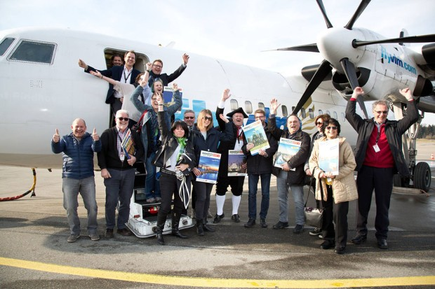 Flughaven, Friedrichshafen, Deutschland, Gewinnspiel, ORF, Ein Wälder auf Reisen, Foto, Maurice, Shourot, Fotograf, 2016, Februar, 26, 2016,
