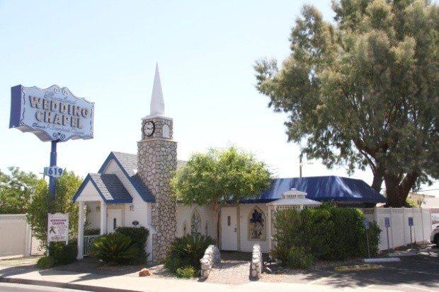 Die Graceland Wedding Chapel in Las Vegas.