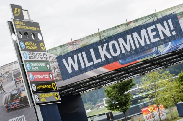 F1 GP Austria 2014 © Sandro Zangrando Red Bull Content Pool
