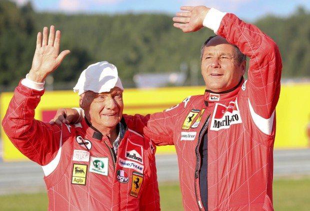 Niki Lauda  und  Berger