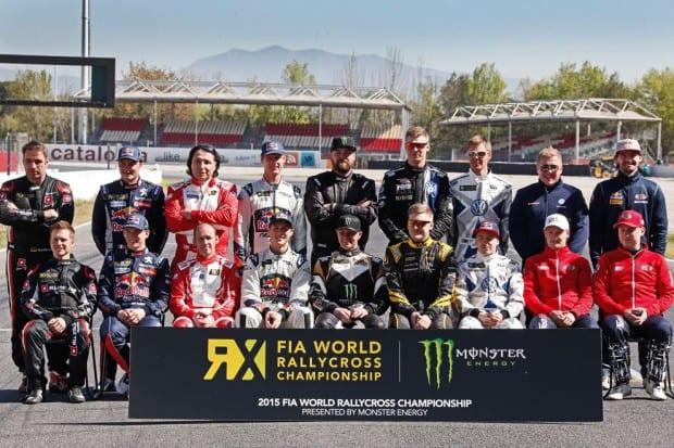 FIA Rally Cross Weltmeisterschaft 2015 Teilnehmer