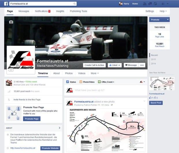 Formelaustria Facebook