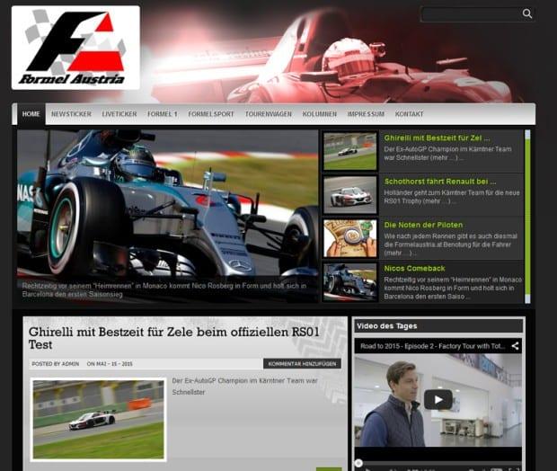 Formelaustria Website