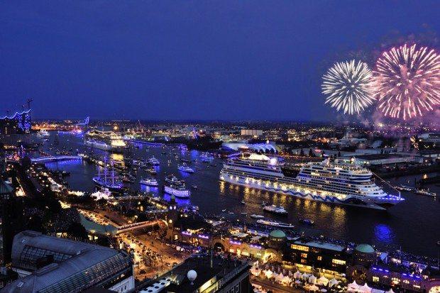 Hamburg Cruise Days-Parade 2014
