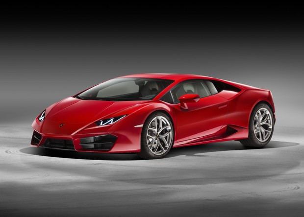 Huracán LP 580-2_3-4 Front Red
