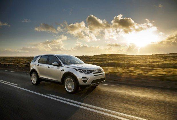 LET 2015 Tour-Fahrzeug Discovery Sport