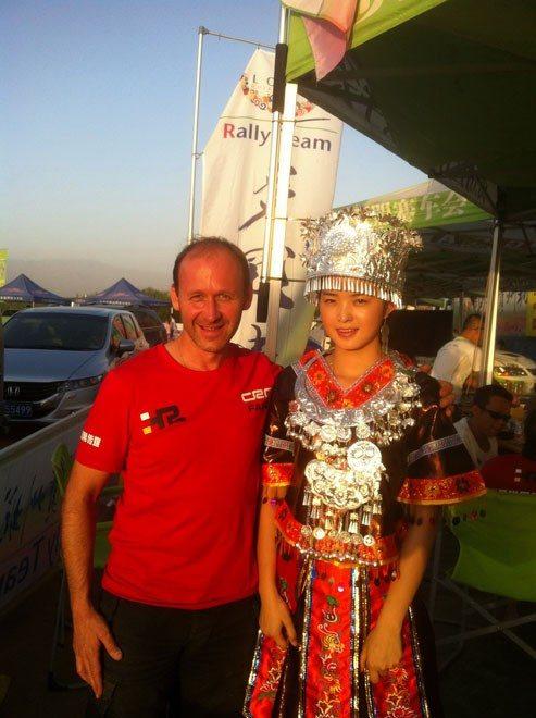 Manfred Stohl vor China Rallye 1046