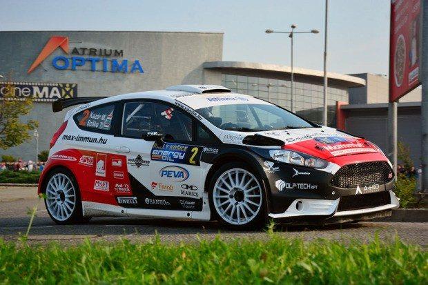 Miklos Kazar, Ford Fiesta R5