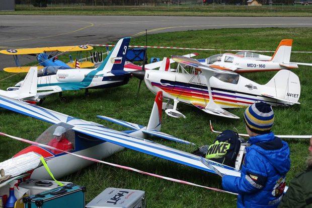 Modellflugshow