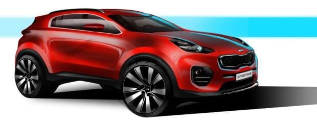 Next Generation Kia Sportage (1)