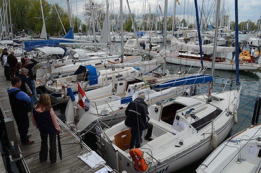 Gebrauchtbootausstellung