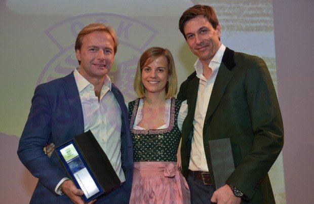 Philipp Peter, Susie und Toto Wolff.