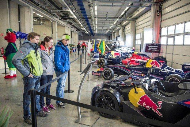 Projekt Spielberg SE Fahrzeugausstellung © Philip Platzer Red Bull Content Pool