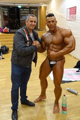 Rainer Stoss mit Mentaltrainer Josef Fleck