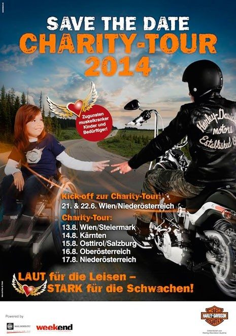 Harley Charity Tour