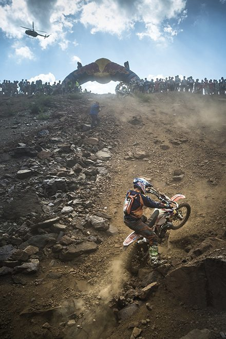 Wade Young performs at the Red Bull Hare Scramble 2015 in Eisenerz, Austria on June 7th, 2015.
