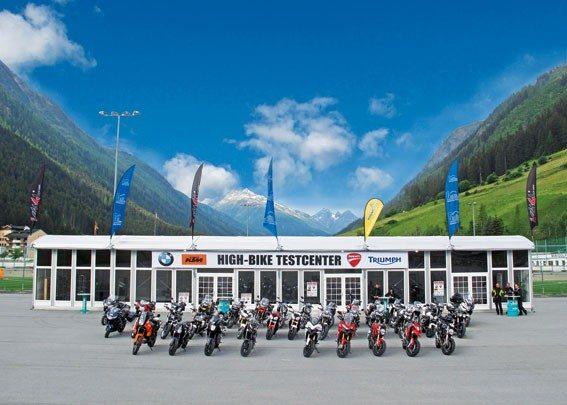 Highbike Paznaun Testcenter