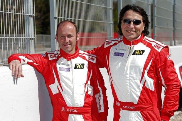 v.l.Manfred Stohl und. Max J. Pucher